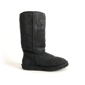 Ugg Classic Tall Black Boots  Women's size 8